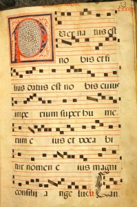 RB Add.Ms. 373. 17th century. Handwritten Gregorian gradual on vellum. Spain.