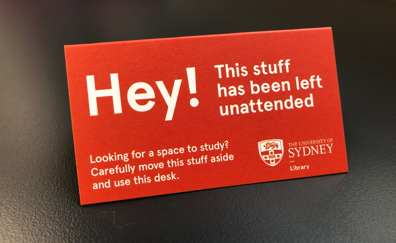 Stuff Thats Left Behind When University >> Library News University Of Sydney Library
