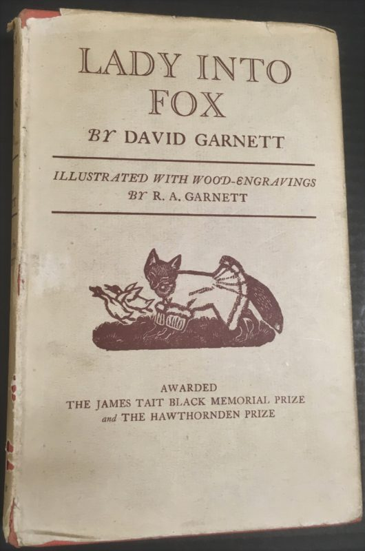 Title page of Lady into Fox / David Garnett