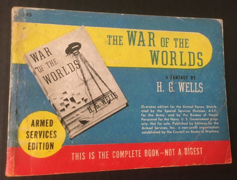 Cover of The War of the Worlds / H. G. Wells