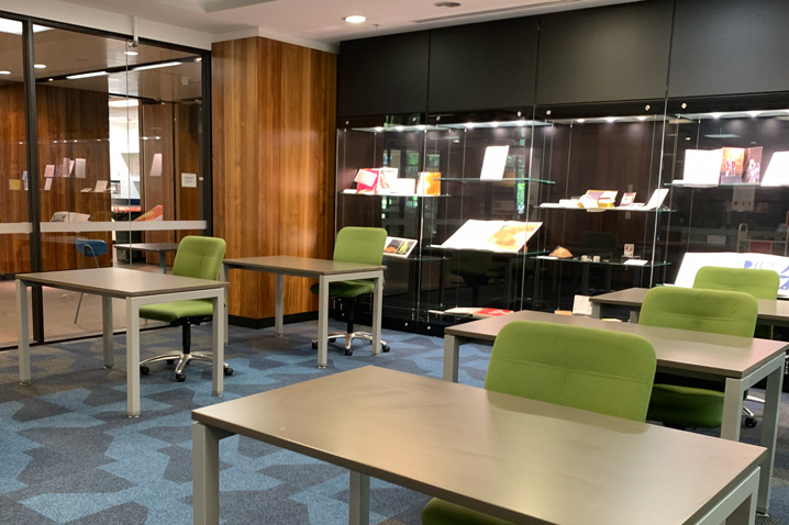 Rare Books & Special Collections reading room