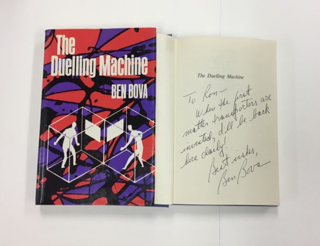Book cover of The Duelling Machine