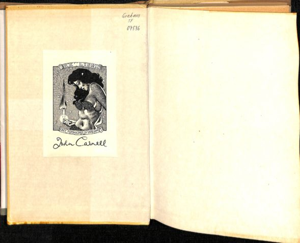 Bookplate in The World Aflame