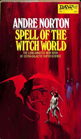 Book cover of Spell of the Witch World