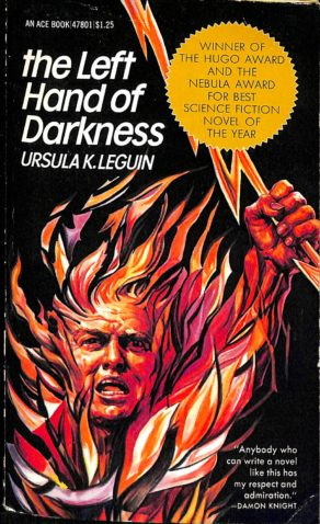 Book cover of The Left Hand of Darkness