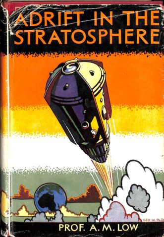Adrift in the Stratosphere book cover