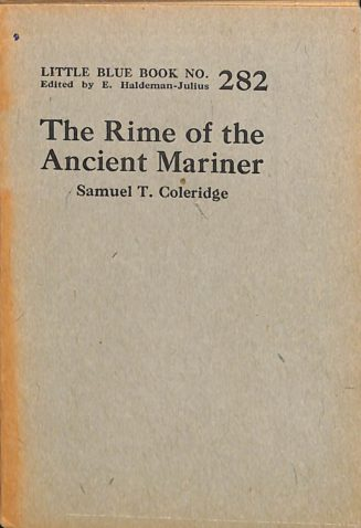 The Rime of the Ancient Mariner book cover
