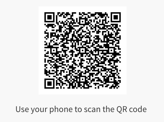 The Matrix film QR code
