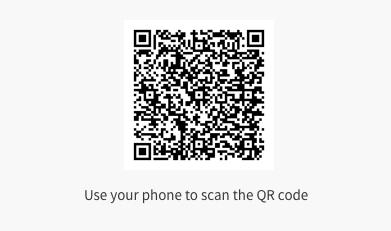Trans+ book QR code