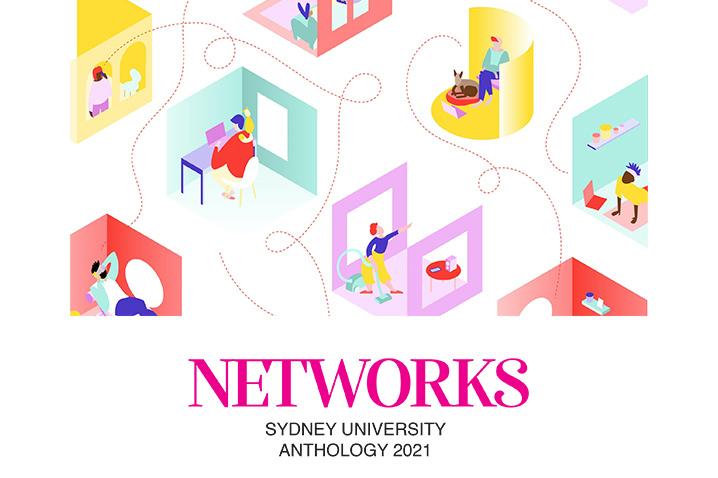 Sydney University Anthology 2021 poster art