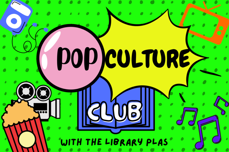 graphic for Usyd-Library-PLAs-Pop-Culture-Club