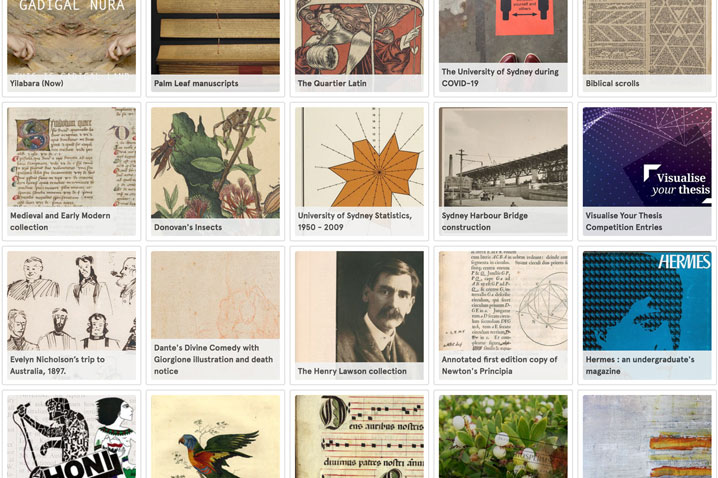 Sydney Digital Collections Usyd Library